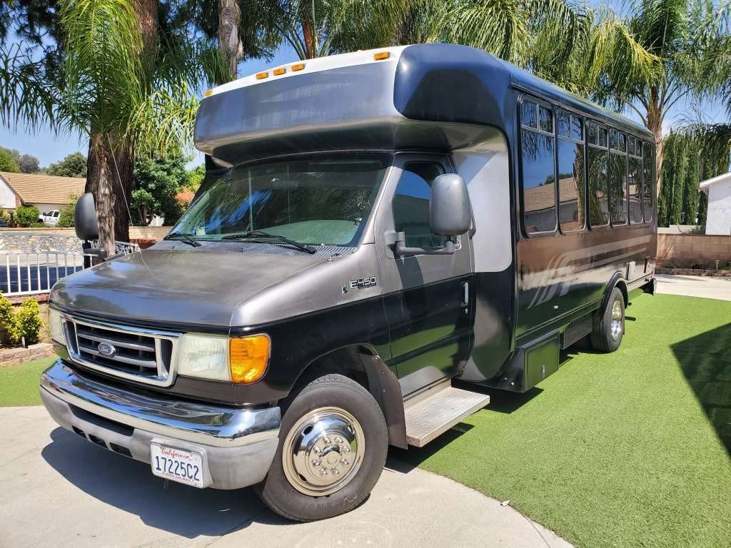 Custom Made Bus Conversion/RV type, Seats 13, w/ Built In